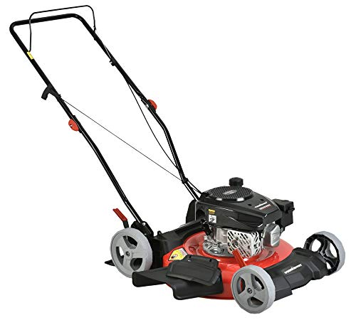 PowerSmart DB2321CR Gas Push Lawn Mower, Red/Black