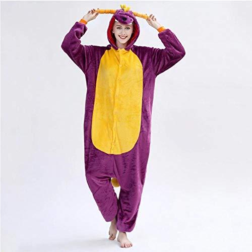 Pijama Pijama de franela de dinosaurio...