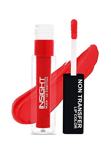 Insight Non Transfer Lip Color, 4ml (09 Sunset Red)