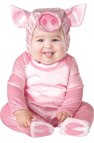 Disfraz cerdito para bebé-Premium 0-6 meses (50-68)