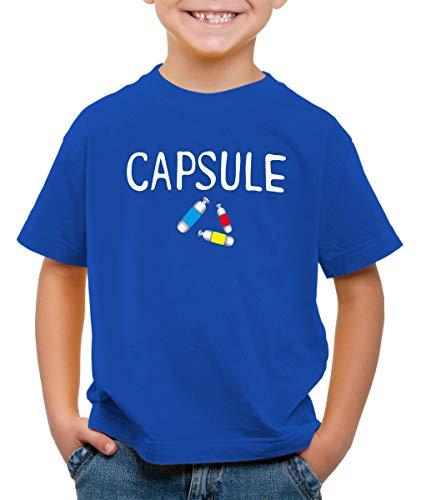 style3 Capsule T-Shirt pour Enfants Ball Corp Dragon, Couleur:Bleu, Taille:104