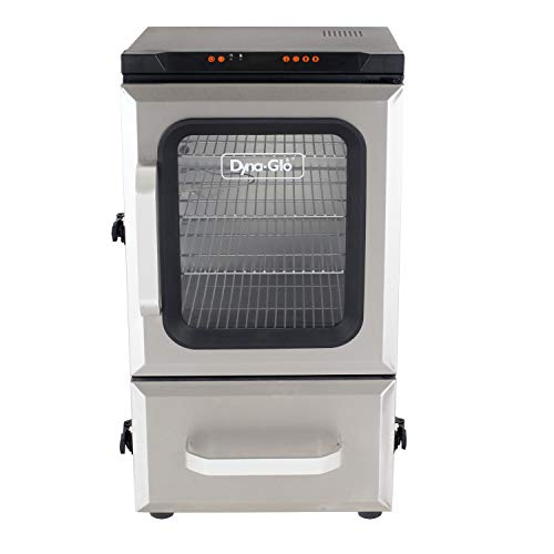 "Dyna-Glo DGU732SDE-D 30"" Digital Bluetooth Electric Smoker, Silver"