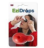 EziDrops Applicateur de gouttes pour les yeux (rouge)