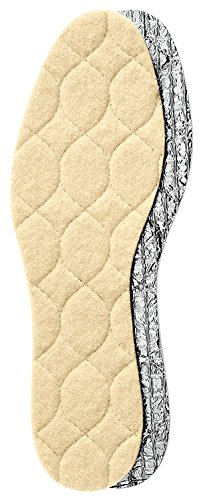 Pedag - SOLAR - sehr warme Alu Wolleinlage mit Thermo Isolierschaum für warme und trockene Füße Kinder Damen Herren weiß Gr.20-54 (39)