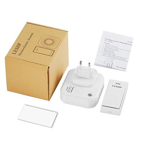 FVE LESHP Einfach zu installierende Music Wireless Türklingel Fernfernbedienung