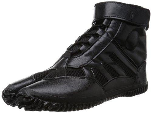 Marugo Tabi Boots Ninja Schuhe Jikatabi (Outdoor Tabi) Sport Jog, Schwarz (schwarz), Gr.- 37 EU/ Herstellergröße- 23.5
