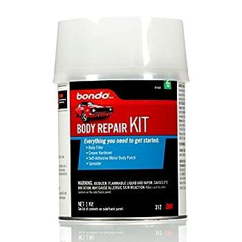 Bondo Body Repair Kit 00312 Everything You Need to Get Started 1 Kit