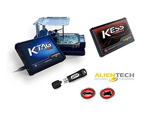 Alientech KESS V2 Master (Cars) und Full Version von ECM Titanium