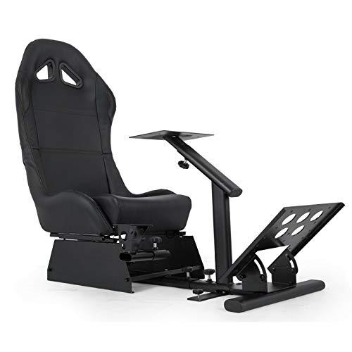 VEVOR Asiento para Simulación de Conducción Racing Simulator Simulador de Conduccion PS4 Completo Simulador Cabina Playseat PS4 G25 / G27 / G29 / G920