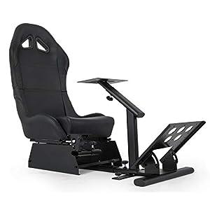 VEVOR Asiento para Simulación de Conducción Racing Simulator Simulador de Conduccion PS4 Completo Simulador Cabina…