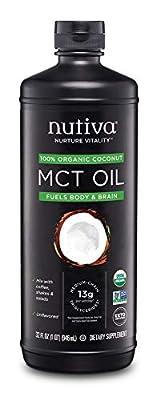 Nutiva Organic MCT Powder with Prebiotic Acacia Fiber from Nutiva