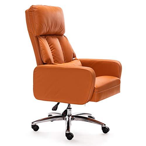 ZLQBHJ Sillas de Escritorio de Oficina, Sillas de Oficina del Ministerio del Interior sillas de Escritorio sillas de Oficina Sofás Sillas Gerenciales Silla ergonómica tapizada en Capas Ordenador