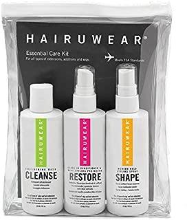 HairUWear Essential Care Travel Kit