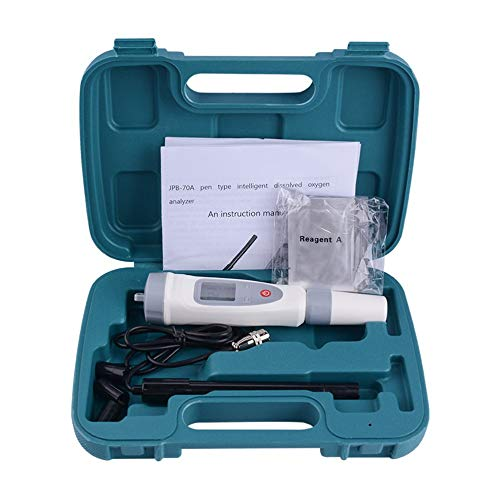 LeftSuper Digitale opgeloste zuurstofmeter Digitale opgeloste zuurstofmeter Draagbare opgeloste zuurstofpen Waterkwaliteitstester Opgeloste zuurstofdetectoranalysator