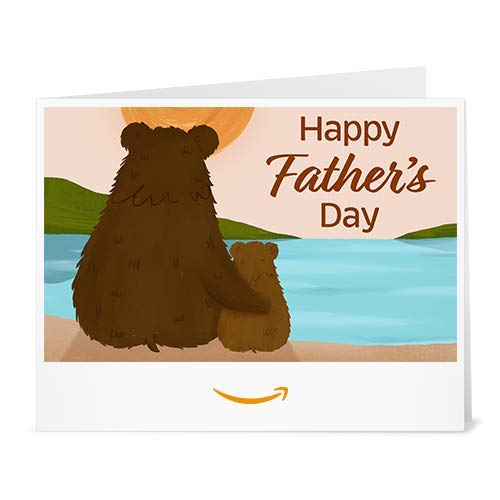 Amazon Gift Card - Print -Father's Day Bears