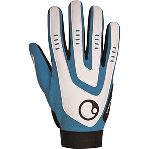 Ergon Unisex Handschuhe HE2, Blau, Large