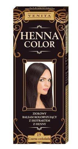 Henna Color 19 Dunkle Chocolat Protecteur De La Peau Coloration Cheveux Effet De Couleur Cheveux Naturels Colorant Poule Eco