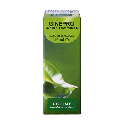 Olio essenziale Ginepro puro al 100% 10 ml - Prodotto erboristico made in Italy