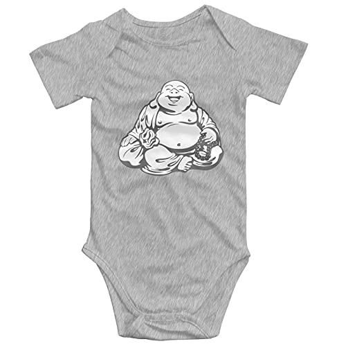 Ayadalsm Toddler Climbing Bodysuits, Maitreya Buddha Baby Onesies Cotton Short-Sleeve Jumpsuit Clothes 2t