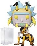 Pop Animation: Rick and Morty – Wasp Rick Pop! Figura de Vinilo (Incluye Funda Protectora Compatible...