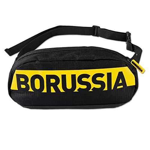 Borussia Dortmund Gürteltasche (one Size, schwarz/gelb)