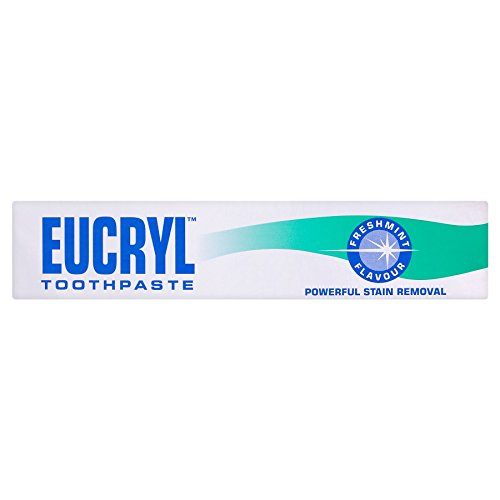 EUCRYL SMOKERS TOOTHPASTE FRESHMINT 50ML POWERFUL STAIN REMOVAL by Eucryl