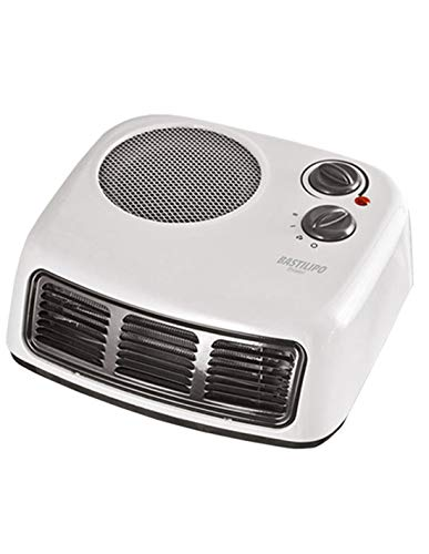 Bastilipo TLM-2000 Termoventilador - Calefactor de Aire Caliente, 2000 W, Acero, Blanco