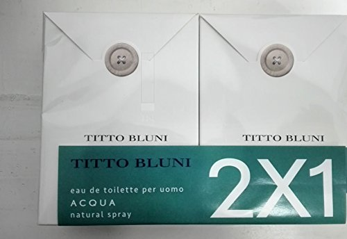 Titto Bluni Acqua EdT N/S 75ml 2x1