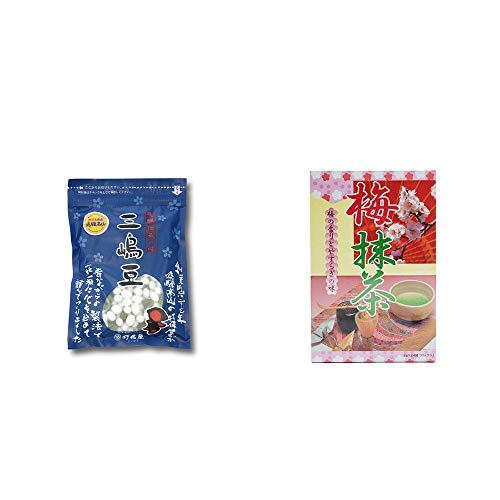 [2点セット] 飛騨 打保屋 駄菓子 三嶋豆(150g)・梅抹茶[大](24袋)