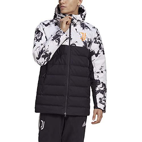 adidas Herren JUVE SSP Daunenjacke Jacke, Black/White/Apsior, L