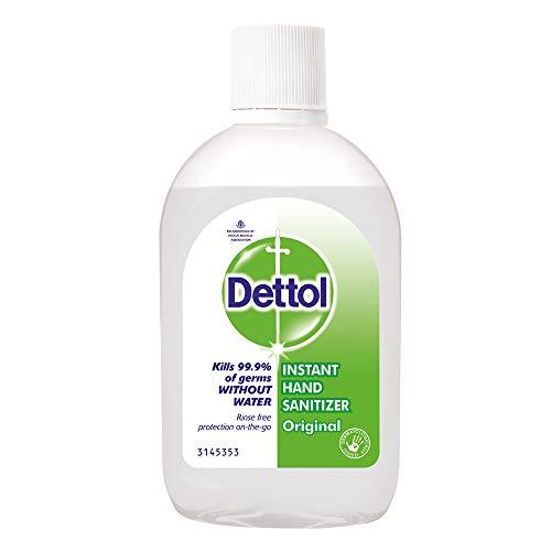 Dettol Alcohol based Hand Sanitizer, Original, 60ml