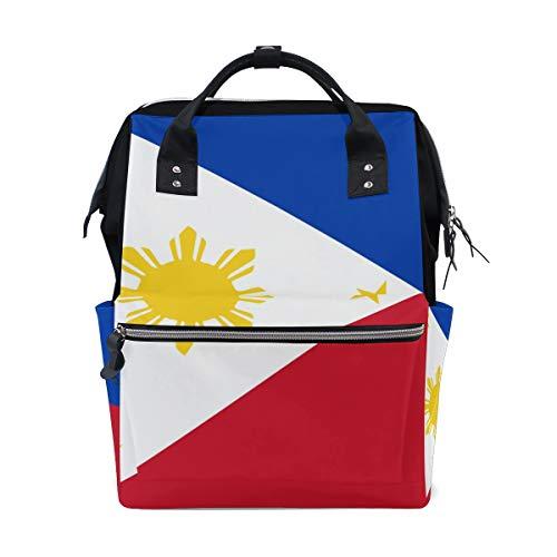 Bandera de Filipinas bolsas de mamá bolsa de pañales bolsa de día pañales bolsas para el cuidado del bebé