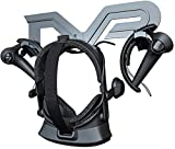 Skywin Universal VR Wall Mount Compatible with Oculus Quest, Valve Index VR Headset, PSVR Headset, and HTC Vive VR Headset - Black Save Space, Store and Display Your VR Headset and Controllers