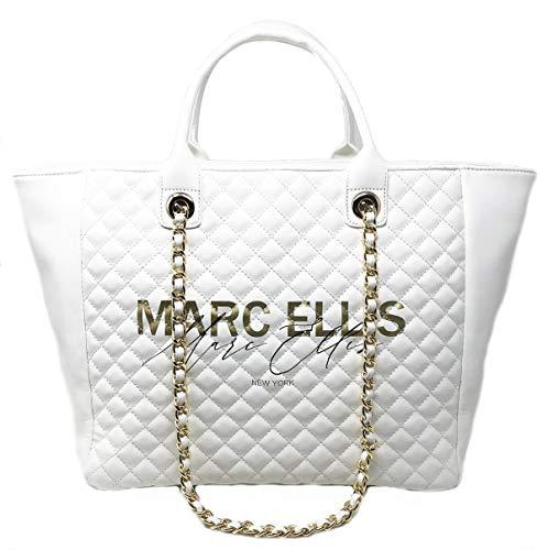 Marc Ellis Queens Handtasche XL Weiß
