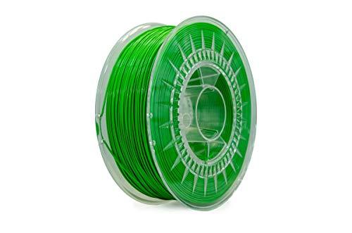 Eolas Prints | Filamento Flessibile 3D 100% TPU | Stampante 3D | Made in Europa, Adatto per uso alimentare e creazione giocattoli | 1,75mm | 1Kg | Verde