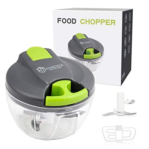 HomeTeck Manual Food Chopper, Onion Chopper, Easy Pull Food Chopper, Large Size And Easy to Store