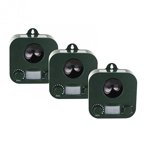 WEITECH Pack 3X Garden Protector WK0053 REPULSIF Chien Chat FOUINE