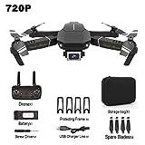LUNAH Drone Pieghevole - Giocattolo Rc Drone E98 con videocamera HD 4K 1080P 720P Quadricottero RC,...
