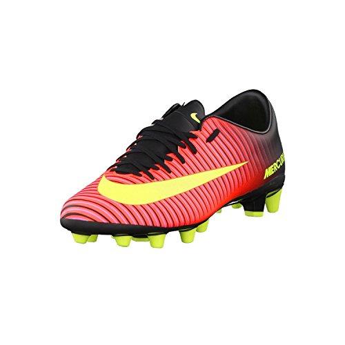 Nike Mercurial Victory VI AG-PRO, Scarpe da Calcio Uomo, Arancione/Nero/Rosa (Total Crimson/VLT-Blk-Pnk Blst), 47.5 EU