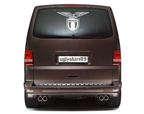 Irriducibili Lazio Autoaufkleber 45 cm | Ultras | Rom | Sticker | Aufkleber | M1