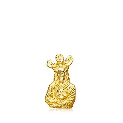 Colgante Medalla Silueta Nuestro Padre Jesús Cautivo Oro 18 kilates 13mm