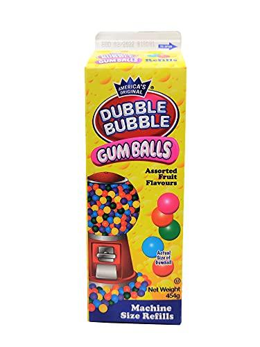 Dubble Bubble Gumball refill - Cartón reposición bolas de chicle