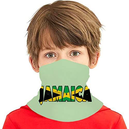 SYDIYIWL Jamaica Multi Face Cover Bandana Cuello Polaina Pasamontañas Cabeza Wrap Para Adolescentes
