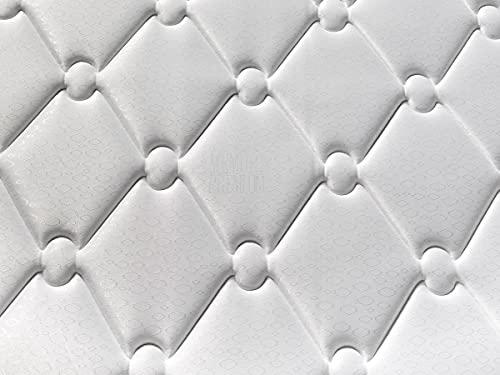 Colchón viscoelástico Hybrid | Colchón de 20 cm de Grosor |2 centímetros de Super Softh Memory | Colchón de firmeza Media | 5 Capas de Espumas Premium | Colchón Económico de Calidad (110x190)