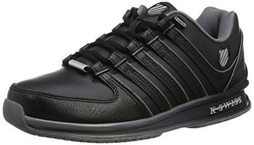 K-Swiss Herren Rinzler SP FADE Sneakers, Schwarz(Black/Charcoal/Silver), 41 EU