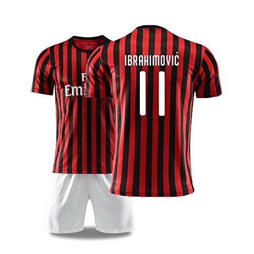 WEF Zlatan Ibrahimović 11# Footballs Jersey-Set Men's Kids T-Shirt Vest,Children and Adult (Color : B, Size : Adults-S)