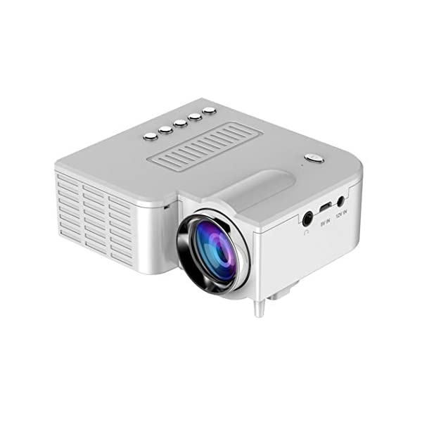 Kindes USB Charge Mini Portable LED Projector 1080P Multimedia Home Cinema Theater Video Projectors
