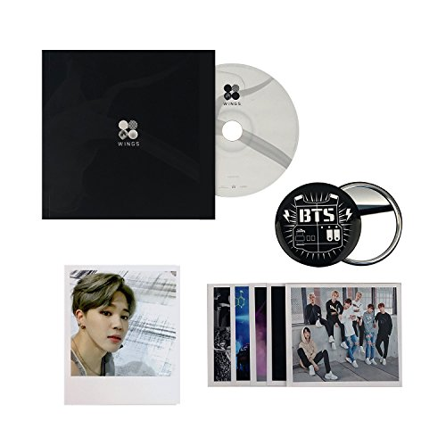 BTS 2nd Album - Wings [ I ver. ] CD + Photobook + Photocard + FREE GIFT / K-POP Sealed