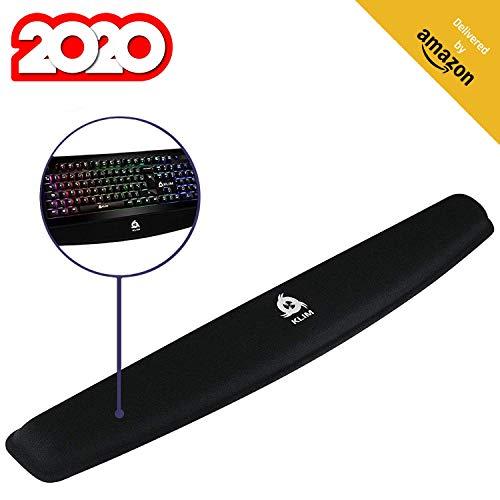 KLIM™ Polssteun voor toetsenbord - Hoge kwaliteit - Voorkomt een peesontsteking - Maximaal comfort - Levenslange garantie - NIEUWE VERSIE 2020