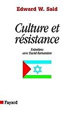 Culture et résistance - Entretiens avec David Barsamian d'Edward W. Said